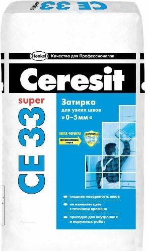 Затирка CERESIT CE33 / ЦЕРЕЗИТ СЕ33 карамель (2 кг)Затирка для плитки<br>Только затирка CERESIT CE33 карамель (2 кг) № 46 способна обеспечить качество швов и придать декоративному покрытию надлежащий внешний вид. Во-первых, следует остановиться на цветовом решении. «Карамель» - мягкий, теплый оттенок, напоминающий море и высоко стоящее, но не обжигающее солнце. Он прекрасно сочетается с нежными цветами плитки от розового до светло-зеленого. Такие швы перестают быть отдельным элементом интерьера, а словно вливаются в облицовку, создавая потрясающий эффект визуальной целостности п<br>