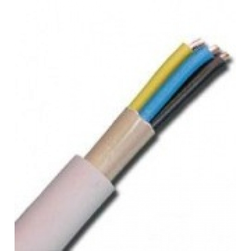 Кабель NYM 3х2.5 Конкорд (ГОСТ / 100 м)Кабель силовой медный (НУМ, NYM) в бухтах<br>Кабель NYM используется для распределения и передачи электроэнергии в помещениях. Его применяют при прокладке осветительных и силовых сетей. Изделие имеет оболочку из ПВХ пластиката. Внутри кабеля в качестве наполнителя используется мелконаполненная резиновая смесь.<br>