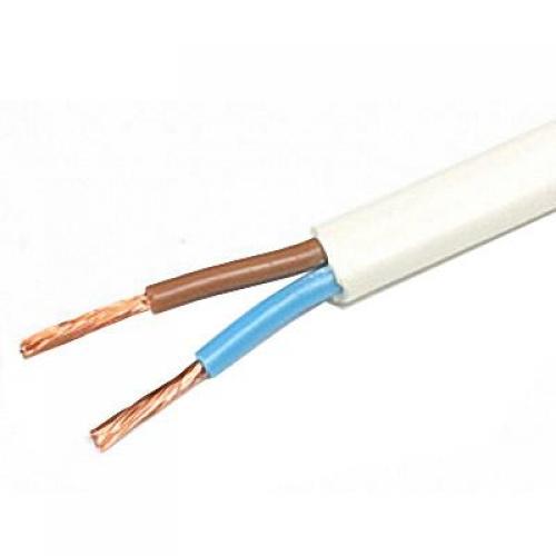 Провод ПУГНП 2х1.5 (ТУ / 100 м)Гибкий монтажный провод (ПУГНП) в бухтах<br>Универсальный провод ПУГНП 2х1.5 (100 м) имеет две жилы состоящие из медных тонких проволок. Это позволяет многократно изгибать кабель не опасаясь перелома проводников, осуществлять монтаж электрических линий (разводку) по фигурным, криволинейным основаниям. Помимо этого проводу легко придать направление внутри гофры, защитных трубок, каналов и т.п. Сфера использования охватывает: создание осветительных сетей (подключение светильников, их соединение в выключателями), подача нагрузки на бытовые приборы, техн<br>