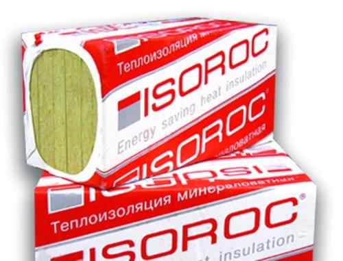 Утеплитель ISOROC ISOLIGHT / ИЗОРОК ИЗОЛАЙТ (1000x500x50 мм / 4 м2 / 0.2 м3 / 8 листов / плотность 50)Утеплитель<br><br>