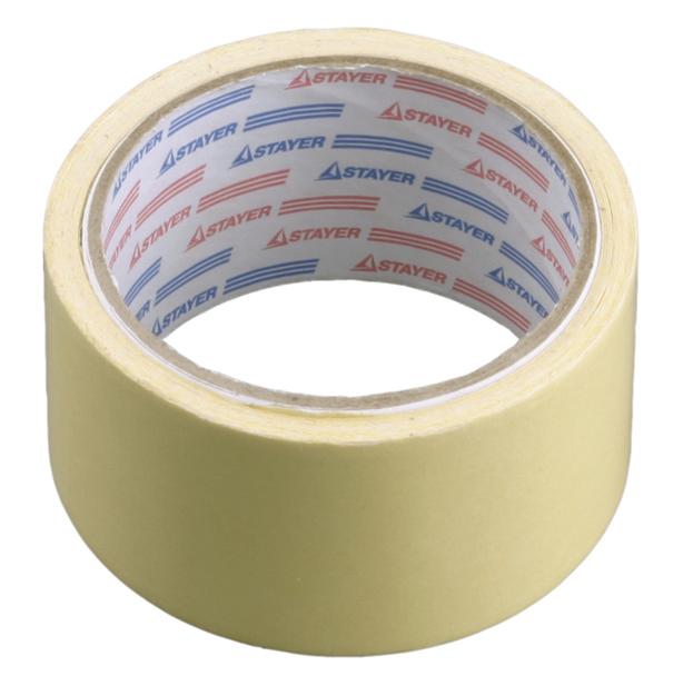 Скотч малярный (50 мм / 50 м)Стеклообои, Серпянка, Сетка, Лента, Скотч<br>Малярный скотч широко используется при выполнении лакокрасочных работ. При этом на него возлагается одновременно несколько задач:- Защита той части поверхности от краски, на которую она наноситься не должна. Это достигается ограничением участка окрашивания;- Благодаря оклейке малярным скотчем процесс окрашивания происходит максимально аккуратно, поскольку с помощью бумажной ленты шириной в 50 мм удается создать идеально ровный контур, исключающий неравномерность его краев;- Обеспечивается возможность создан<br>