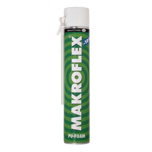 Пена монтажная Makroflex / Макрофлекс зимняя (750 мл)Монтажная пена<br>Makroflex Winter - монтажная пена для нанесения при температуре до -10°C, которую можно использовать в сухих и холодных условиях. Пена имеет превосходное соотношение открытых-закрытых ячеек и высокую механическую прочность. Проста в употреблении, наносится при помощи тонкой трубки-аппликатора. Пена является саморасширяющимся материалом, в процессе твердения увеличивается в объеме примерно в два раза. Обладает превосходной адгезией к большинству таких строительных материалов, как дерево, бетон, камень, метал<br>