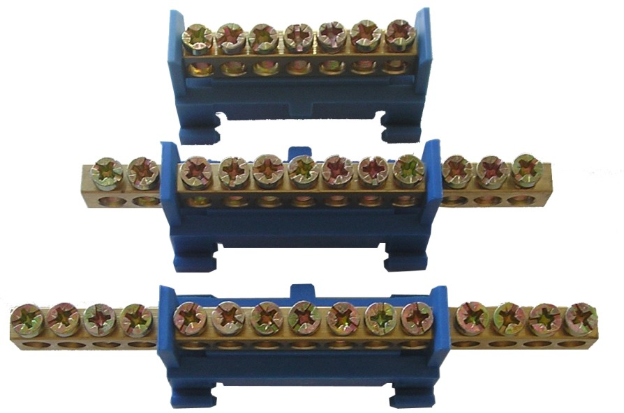 Шина нулевая с лапками 24 контактовКлеммники, ваги, шины<br><br>