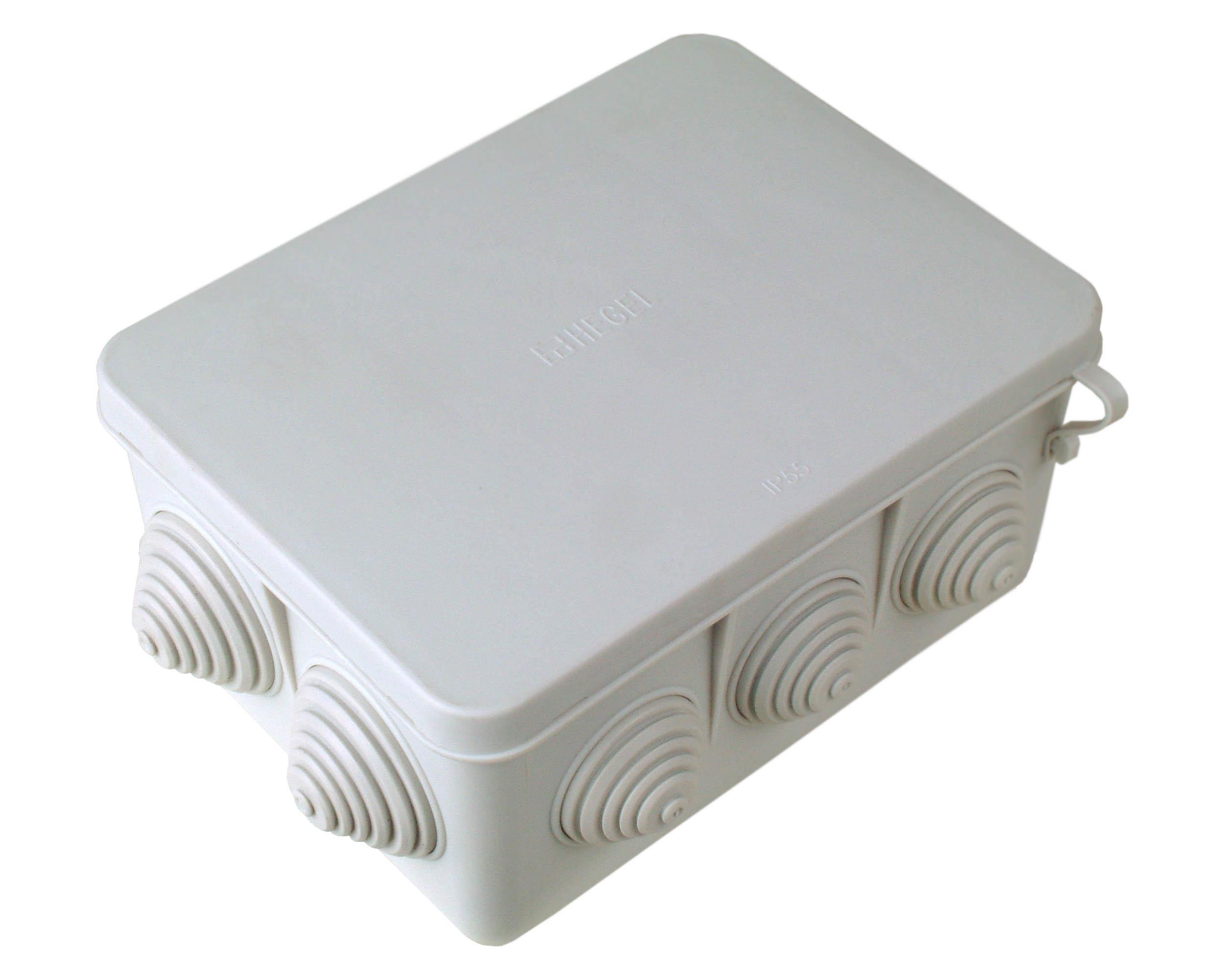 Фото распаечная разветвительная коробка с эластичным входом 4