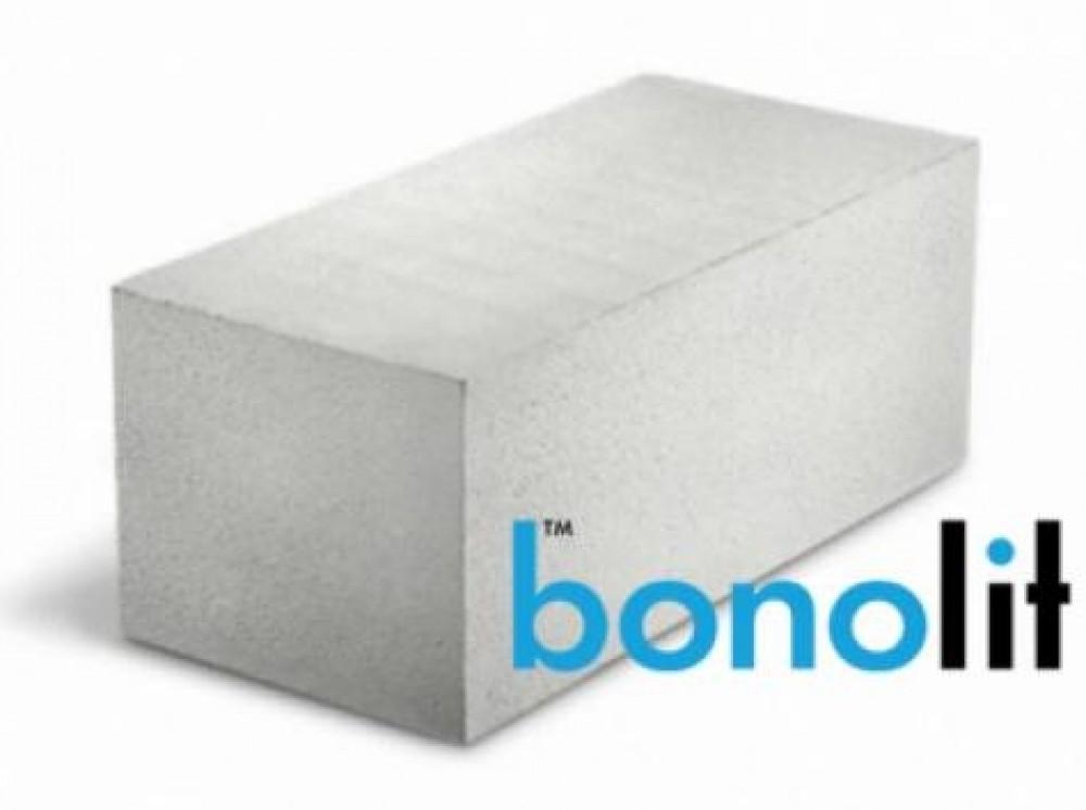 Пеноблок из ячеистого бетона стеновой Bonolit / Бонолит (600х250х125 мм / D500)Пеноблок, кирпич<br><br>