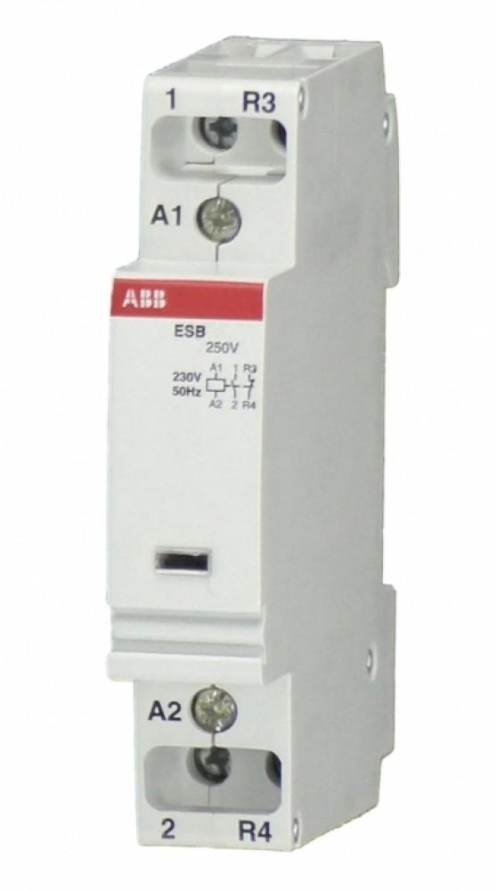 Модульный контактор ABB (ESB-20-11 / 20A AC / 220В)Контакторы<br><br>
