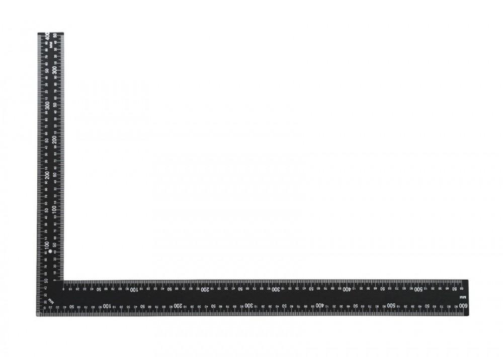 Угольник столярный класс Стандарт (350 мм / 40 мм)Измерительный инструмент<br>Для контроля перпендикулярности расположения строительных конструкций и проведения разметочных работ рекомендуется угольник столярный класс Стандарт (350 мм/40 мм). Инструмент состоит из стального полотна, с нанесенной разметкой в миллиметрах/сантиметрах. Область применения измерительного инструмента практически безгранична. Он используется во время проведения различных работ: возведение перегородок, стен, устройство облицовок, обрешеток, укладка напольных покрытий (ламинат, паркет, доска, щиты), керамическ<br>