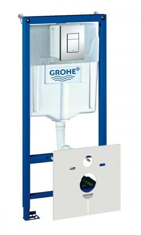 Инсталляция Grohe / Грое с шумоизоляцией (4 в 1)Унитазы<br><br>