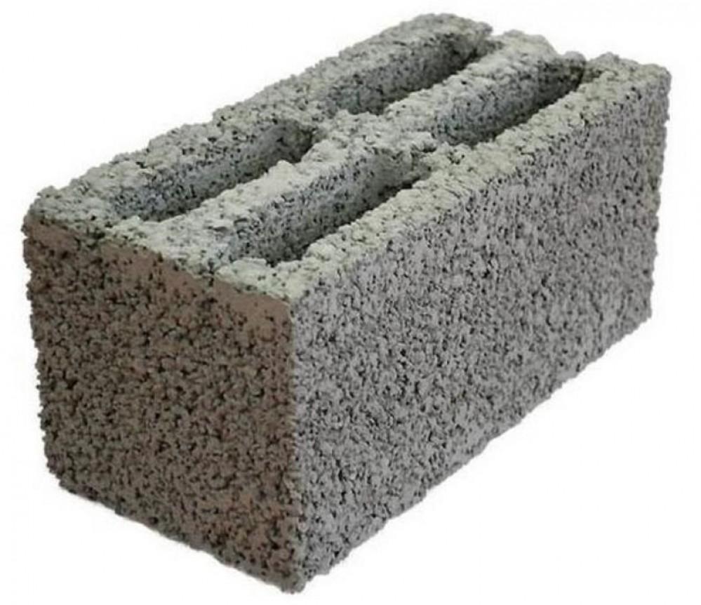 Блок стеновой пустотелый керамзитовый (400х200х200 мм)Пеноблок, кирпич<br><br>