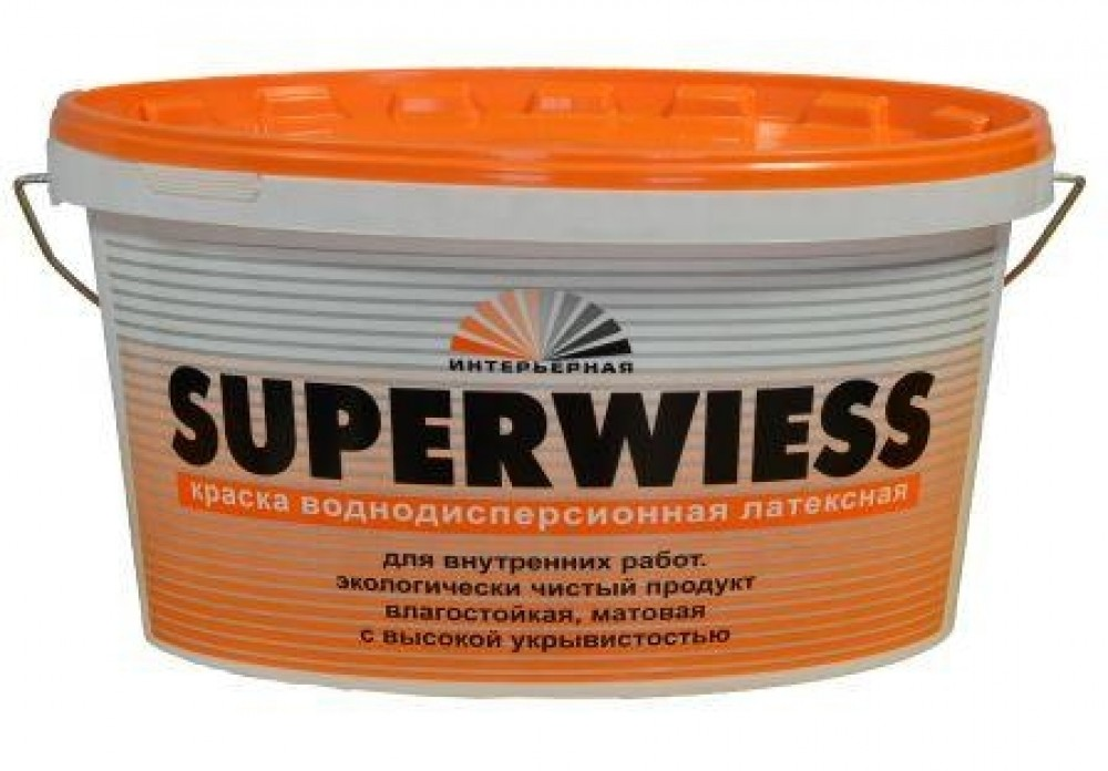 Краска КБС БС-11 Superwiess супербелая (14 кг)Краска<br><br>