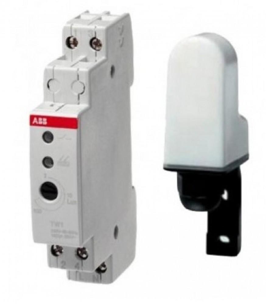 Реле уровня освещенности ABB TW1 с датчикомАвтоматика<br><br>