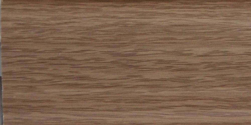 Плинтус пластиковый с коробом (цвет 217 Дуб темный / 2.5 м / 1 шт)Плинтусы<br><br>