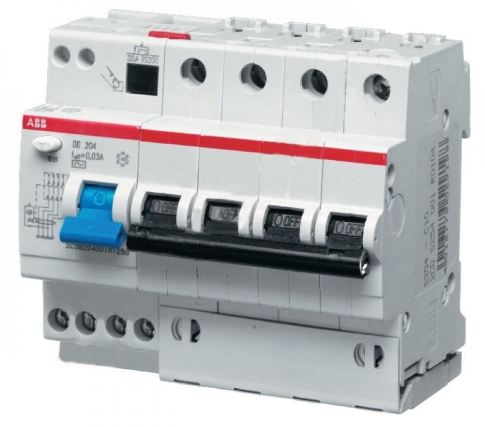 ДИФ-Автомат АВВ (3P+N / C20A / 30мА / DS204)Автоматика<br><br>
