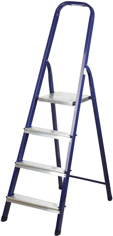 Лестница-стремянка СИБИН стальная 4 ступени (82 см)Стремянки<br><br>
