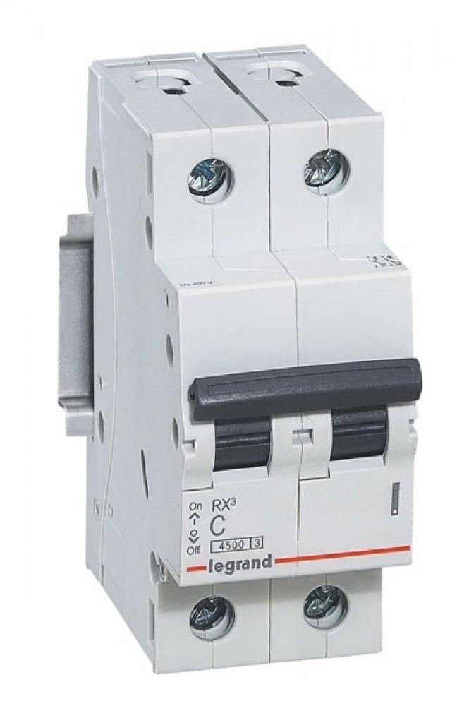 Автоматический выключатель Legrand / Легранд (RX3 / 32A / 230В / 4.5 кА / тип C / 419700)Автоматика<br><br>