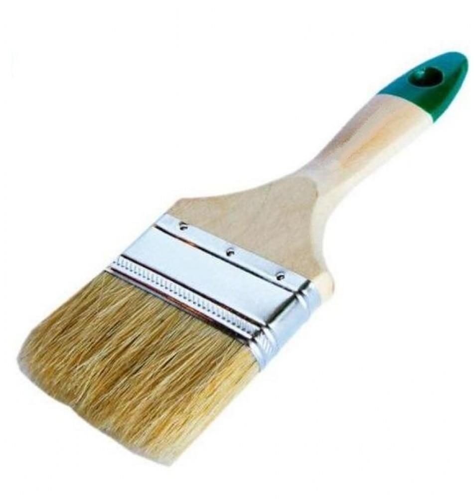 Кисть плоская Аква (для лака и красок) (100 мм)Кисти<br><br>