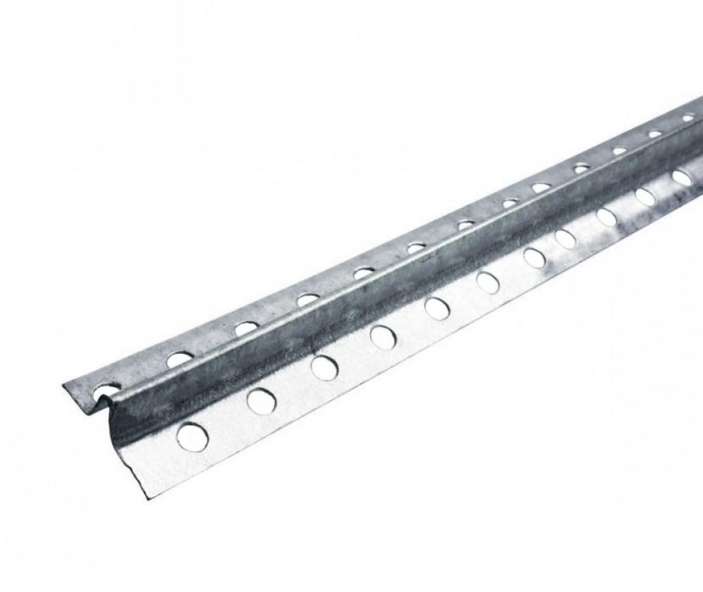 Профиль маячковый металлический KNAUF / КНАУФ (6 мм / 3 м)Профиль специальный<br>Оцинкованный металлический KNAUF-профиль маячковый 6 мм (ПМ) (3м) представляет собой длинномерный элемент используемый при выравнивании стен. Оштукатуривание поверхностей считается одной из трудоемких работ, которая отнимает много времени и сил. Применение ПМ позволяет значительно упростить  и ускорить выравнивание оснований. Профили, установленные в строго вертикальном положении на стену, служат своеобразными направляющими, по которым двигается правило. Мастеру остается только нанести определенное количест<br>