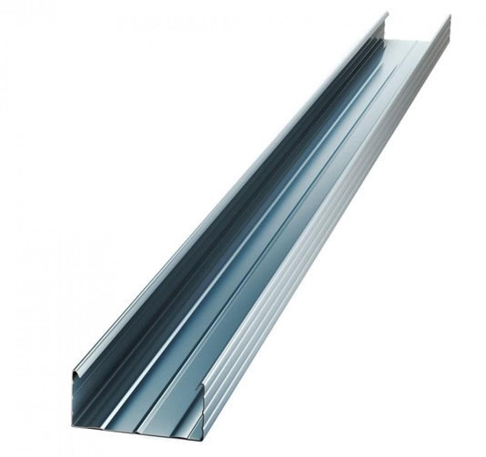Профиль потолочный KNAUF / КНАУФ (60х27х0.6 мм / 3 м)Профиль для ГКЛ<br>Металлический профиль потолочный KNAUF 60Х27 мм (3 м) представляет собой специальный длинномерный строительный элемент в форме буквы «С», выполненный из стальной ленты методом холодной прокатки. Продольные канавки, нанесенные на полки и стенку ПП, придают ему высокую прочность и жесткость.Область примененияМеталлопрофиль активно применяется для устройства каркасной системы подвесных потолков, в том числе многоуровневых, под последующую облицовку листовыми материалами, например гипсокартоном, ГВЛ и так далее<br>