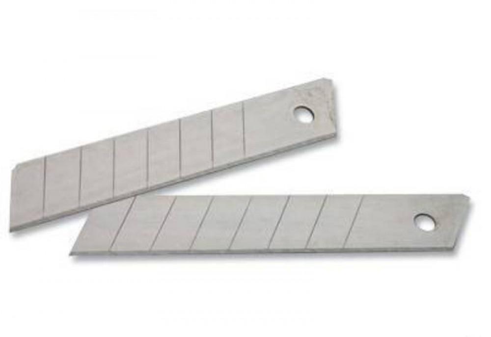 Лезвия ЗУБР ЭКСПЕРТ сегментированные 25 мм, 5 шт, в боксеНожи<br>Используются как сменные рабочие элементы в ножах для разрезания ковровых покрытий, линолеума, гипсовых плит, дерева, пластика и т.д.<br>Изготовлены из высококачественной инструментальной стали.<br>