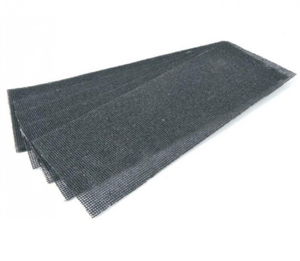 Сетка абразивная класс Стандарт (280х125 мм / зерно 120 / 10 шт)Сеткодержатели, сетка абразивная<br>Великолепной альтернативой наждачной бумаге выступает сетка абразивная класс Стандарт (280х125 мм. зерно 120). Она представляет собой  материал состоящий из:- Полимерного ячеистого полотна (основы).- Абразивного покрытия (электрокорунд нормальный). Изготавливается путем восстановительной плавки бокситов, отличается огнеупорными свойствами и высокой прочностью.Основное преимущество сетки заключается в ее ячеистой структуре. В процессе шлифования она не забивается отходами обрабатываемого материала, не требуе<br>