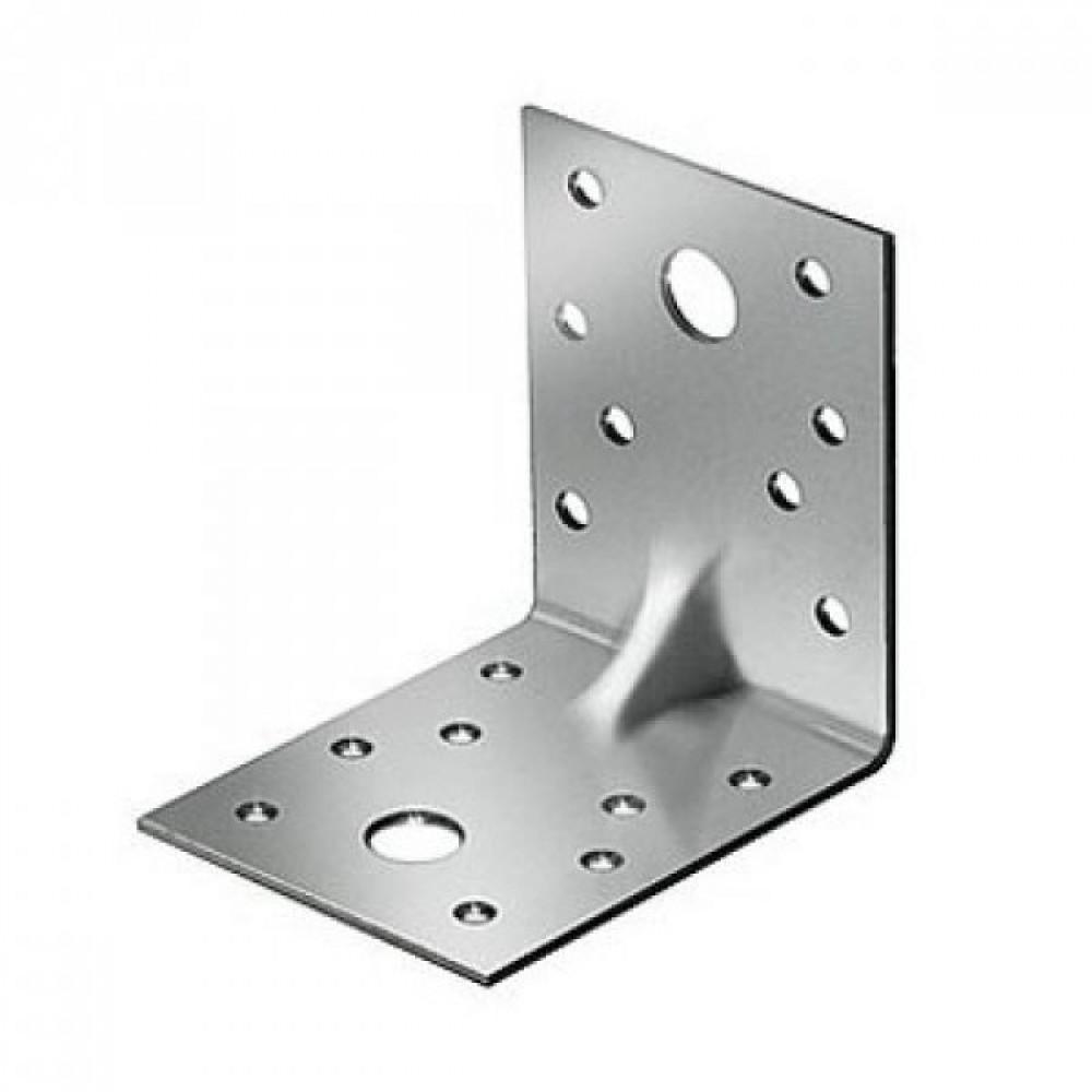 Крепежный усиленный уголок KUU (105(100)/105(100)/90/2) (1 шт.)Крепление для стройлесов<br><br>
