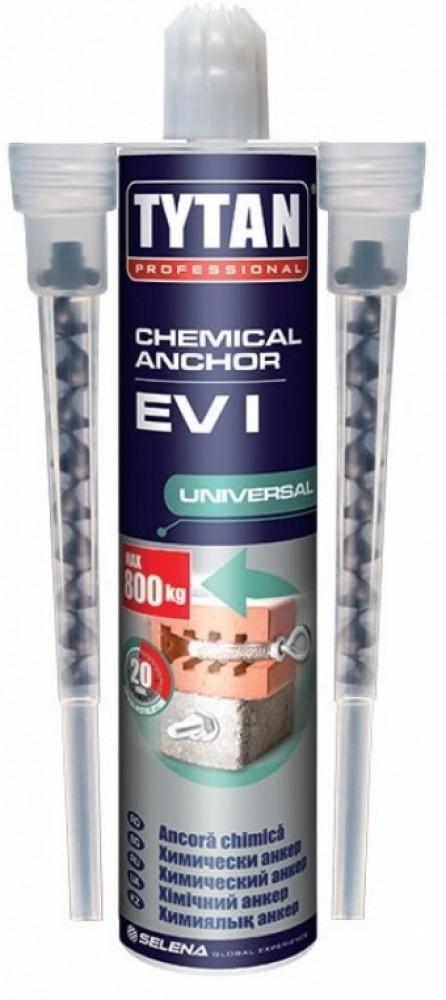 Анкер химический Tytan EV-I / Титан Универсальный (300 мл)Герметики, клеи, жидкие гвозди<br><br>