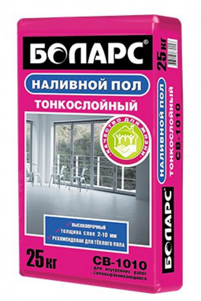 Самовыравнивающийся пол БОЛАРС СВ-1010 серый (20 кг)Наливной пол<br><br>