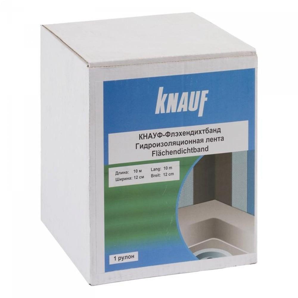 Гидроизоляционная лента Knauf Флэхендихтбанд / Кнауф (10 м x 7/12 см)Гидроизоляционные материалы<br><br>