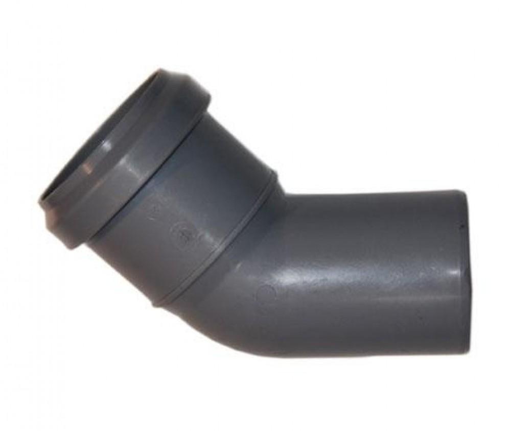 Отвод для внутренней канализации (50/45)Фитинг полипропиленовый<br><br>