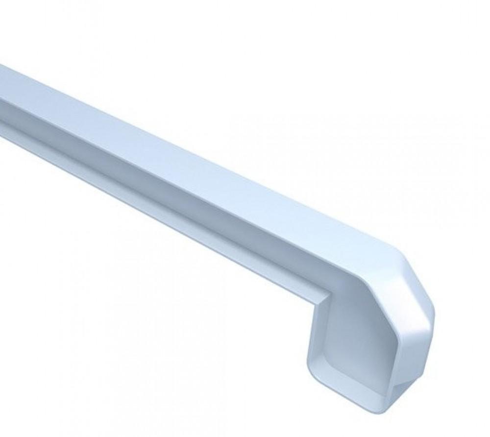 Заглушка для подоконника Danke Standard / Данке Стандарт белая матовая (35 см / пара)Подоконники<br><br>