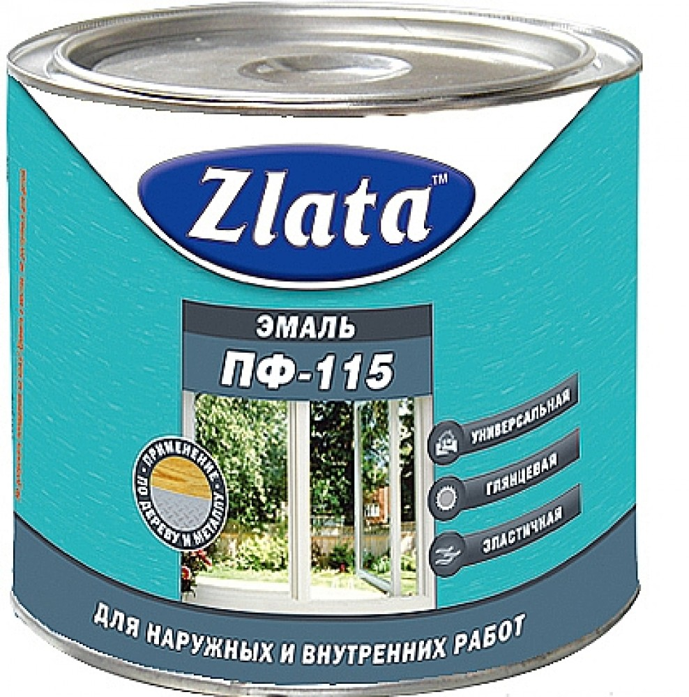 Эмаль Zlata / Злата ПФ-115 (2 л)Краска<br><br>