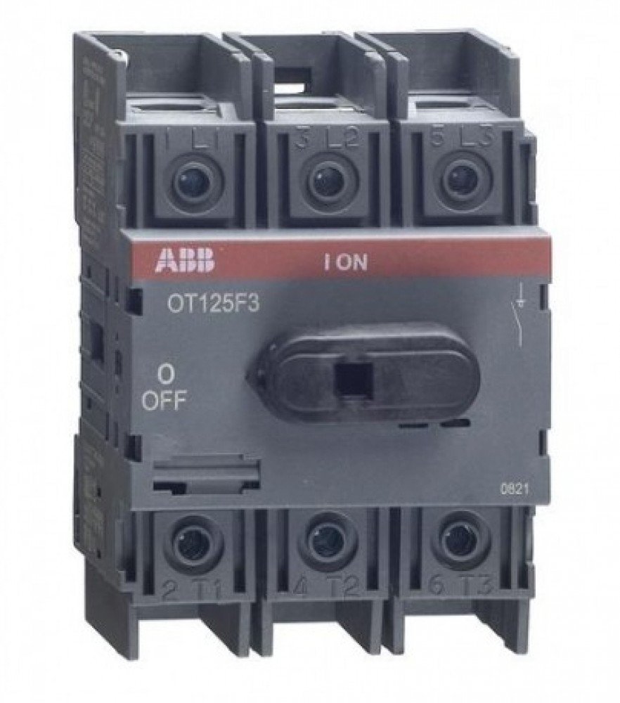 Рубильник на Din-рейку ABB (OT 125F3 / 125A)Автоматика<br><br>