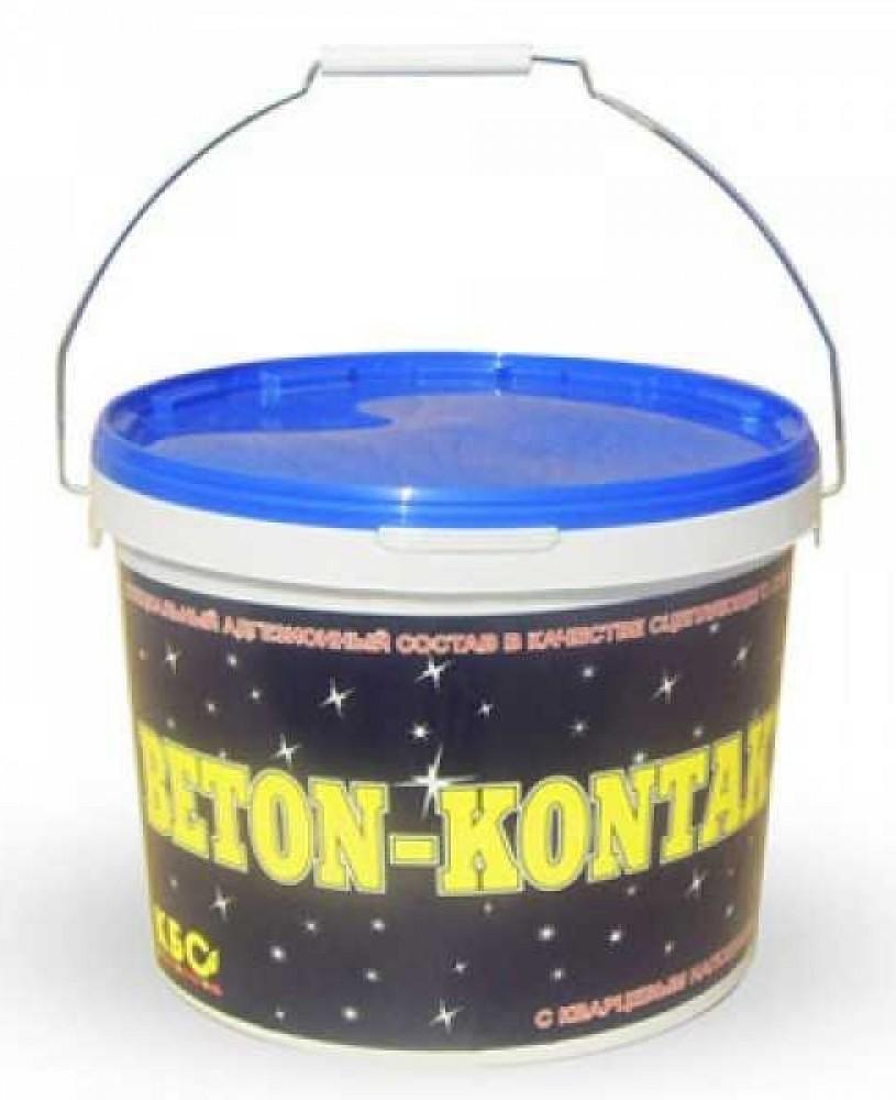 Бетон-контакт кварцевый КБС (5 кг)Бетоноконтакт<br>Перед облицовкой керамикой или оштукатуриванием невпитывающих влагу оснований, рекомендуется провести специальную обработку поверхности с помощью бетон-контакт кварцевый КБС. Бетоноконтакт (5 кг). Акриловая грунтовка содержит в составе кварцевый наполнитель, что позволяет создавать рельефные, шероховатые покрытия, обладающие великолепной адгезией к наносимым штукатуркам (цементным, гипсовым, известковым), плиточным клеям и другим растворным смесям.Область примененияКварцевый грунт используется для обработки<br>