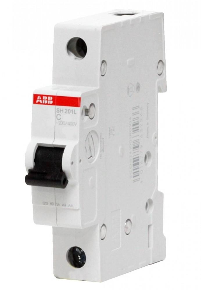 Автоматический выключатель ABB (1p / C6А / 4.5кА / SH201L)Автоматика<br><br>