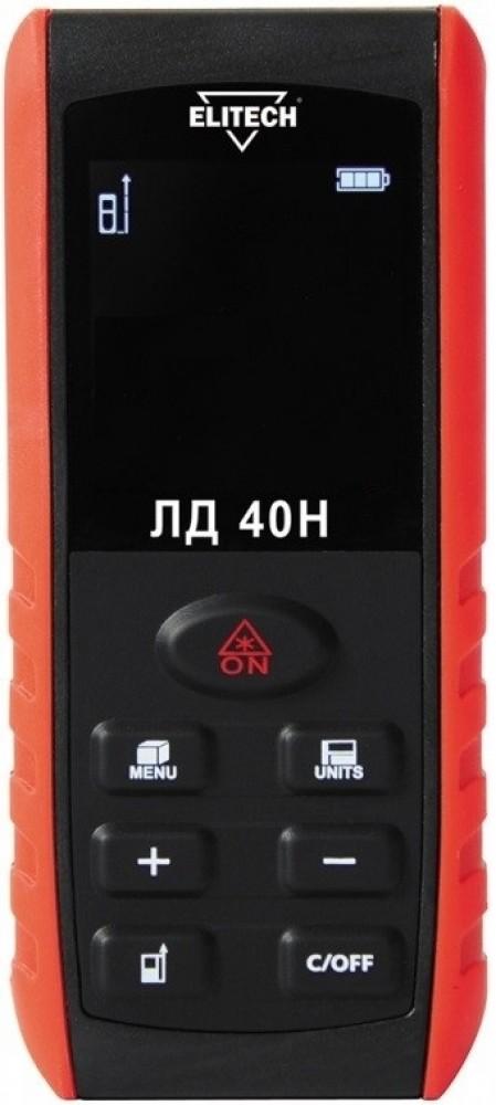 Лазерный дальномер ELITECH ЛД 40НДальномеры<br><br>