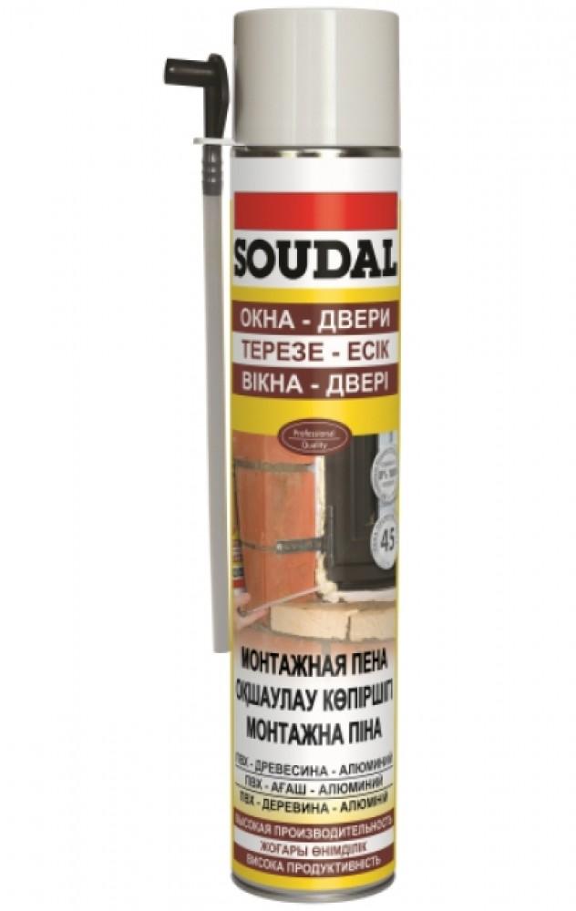 Пена монтажная SOUDAL / Соудал (750 мл)Монтажная пена<br><br>