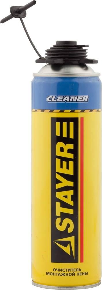 Очиститель монтажной пены STAYER PROFIКлей, Жидкое стекло, Очистители и другие жидкости<br><br>