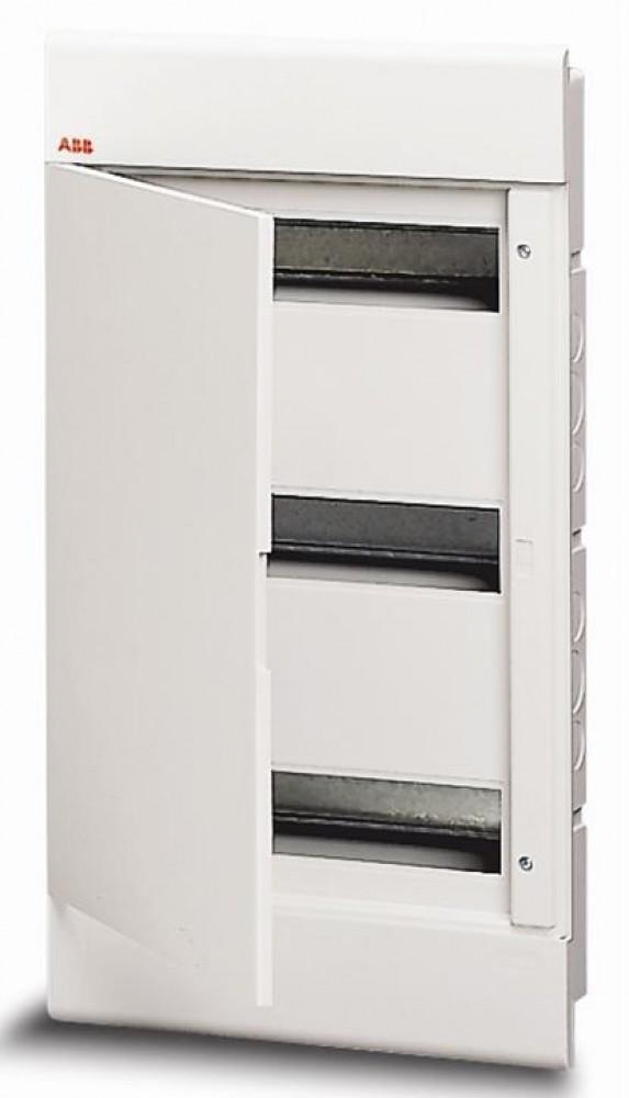 Бокс скрытого монтажа ABB EUROPA LUC 1SL2045A00 (24 м / 280 х 376 х 80 мм / бел. дв.)Боксы для автоматов<br><br>