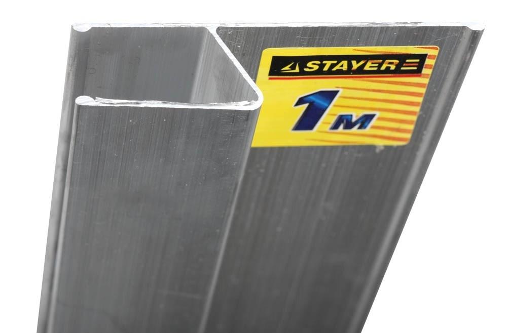 Правило для финишной отделки FINISH STAYER Professional (2,5 м) h-профильПравило, терки<br><br>