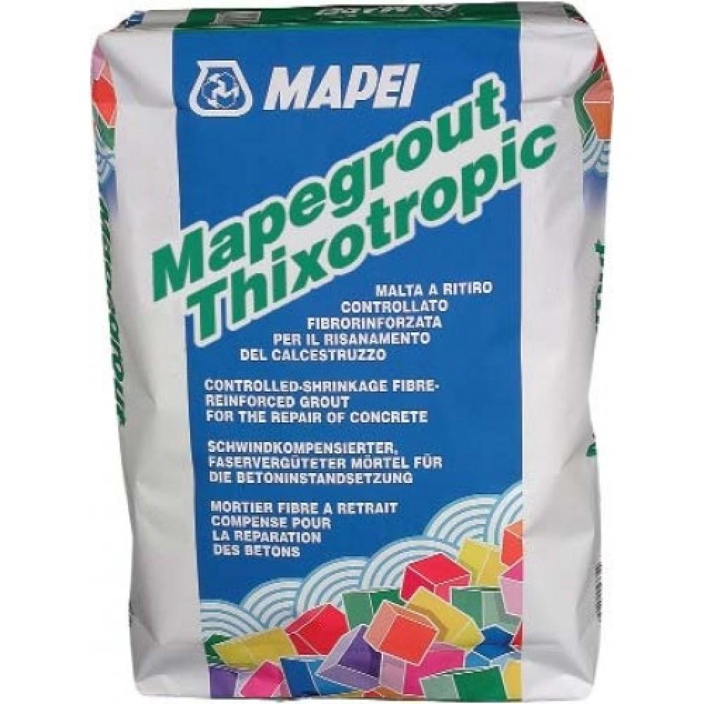 Штукатурная смесь Mapei Mapegrout Thixotropic / Мапеи Мапеграут Тиксотропик (25 кг)Штукатурные смеси<br><br>