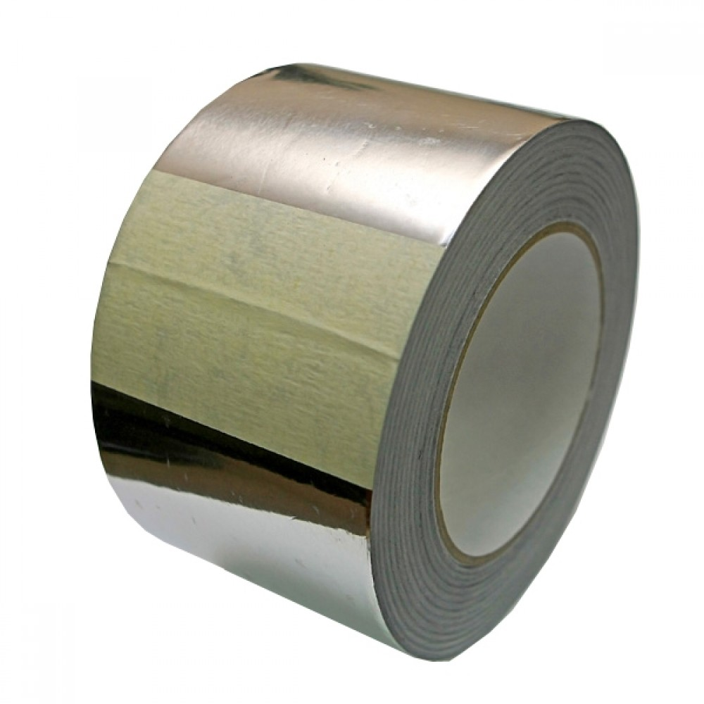 Скотч лента алюминиевая (5 см / 25 м)Стеклообои, Серпянка, Сетка, Лента, Скотч<br>Сегодня скотч лента алюминиевая находит широкое применение в различных сферах деятельности, начиная со строительства, кондиционирования, промышленности и заканчивая автомобилестроением. С ее помощью герметизируют стыки воздуховодов, вентиляции, места соединения теплоизоляционных материалов (особенно с теплоотражающей поверхностью, в банях, саунах, парилках), используют в производстве микроволновых печей, холодильников, духовых шкафов и т.д., для защиты различного оборудования от попадания внутрь грязи, влаг<br>