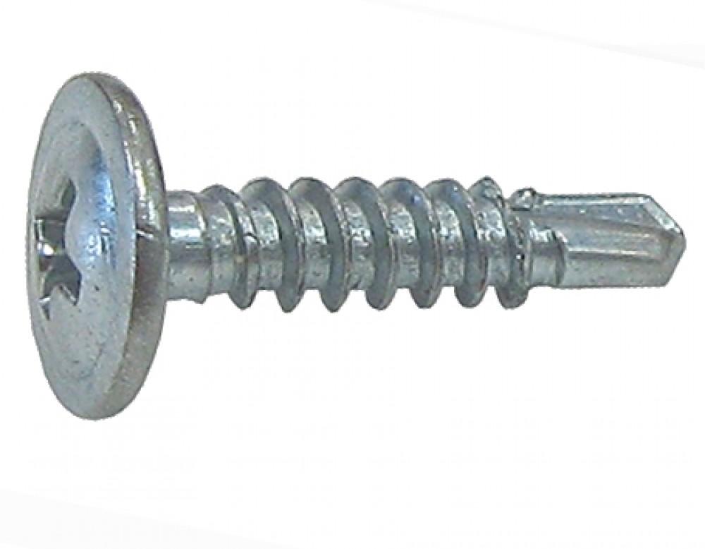 Саморезы универсальные по металлу, клопы со сверлом РН2 (3.5 x 11 мм / 1 кг)Саморезы по металлу<br><br>