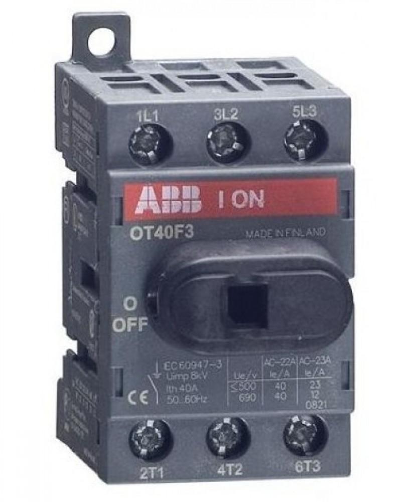 Рубильник на Din-рейку ABB (OT 40F3 / 40A)Автоматика<br><br>