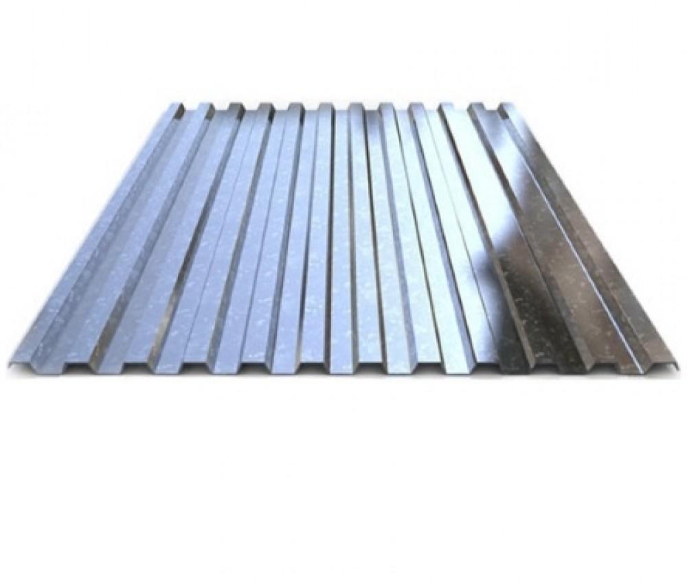 Профлист НС35 оцинкованный (1060 х 0.5 мм / 6 м)Профнастил<br><br>