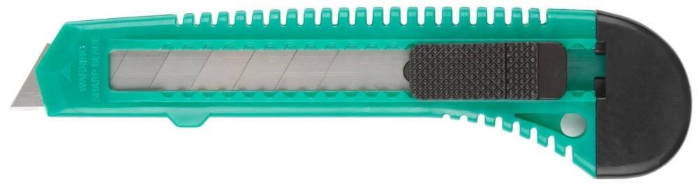 Нож DEXX с сегментированным лезвием, инструментальная сталь, пластиковый корпус (18 мм)Ножи<br><br>