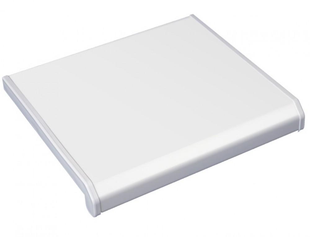 Подоконник Danke Lucido Bianko / Данке Лючидо Бьянко белый (20 см х 1 м.п.)Подоконники<br><br>