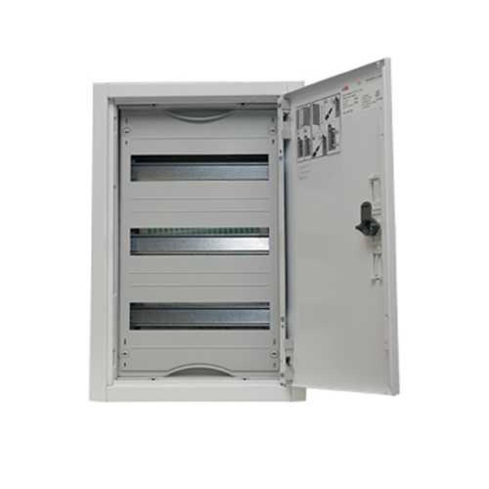 Распределительный щит в нишу ABB STJU32E (72 м / 524 х 550 х 120 мм)Шкафы, щиты<br>Простота монтажа целостных систем, предназначенных для распределения тока, является одной из главных характеристик продукции от немецкого бренда АВВ. Распределительные щиты серии U предназначаются для установки в ниши и фальш-стены. Все модели из данной популярной серии предельно компактны. В случае необходимости металлические дверцы могут заменяться стеклянными. Вместительные щиты с корпусом из листового металла органично встраиваются в нишу, не нарушая гармонию интерьера.Распределительный щит в нишу ABB U<br>