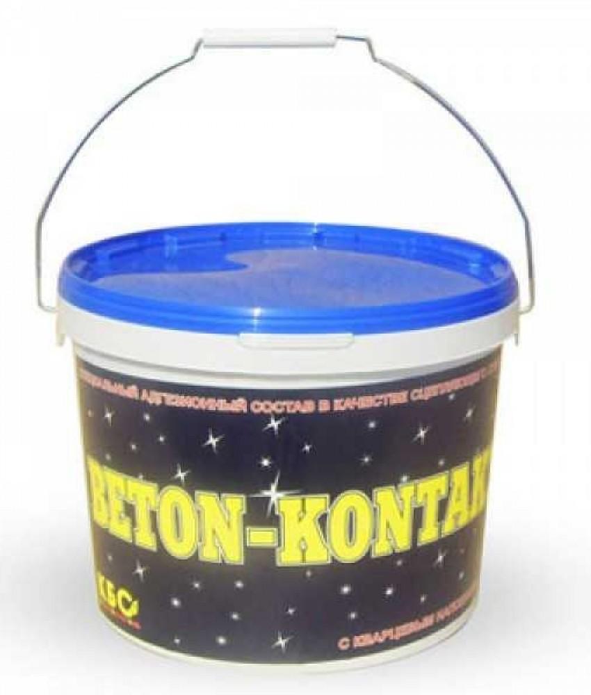 Бетон-контакт кварцевый КБС (20 кг)Бетоноконтакт<br>Значительно увеличить адгезионные характеристики невпитывающих, плотных поверхностей поможет бетон-контакт кварцевый КБС. Бетоноконтакт (20 кг). Он представляет собой специальный грунтовочный состав включающий: акрилат, пластификатор, антисептик и кварцевый наполнитель (придает покрытию легкую шероховатость, обеспечивая отличную сцепляемость с наносимыми растворами). Область применения бетоноконтакта распространяется на внутренние помещения (неотапливаемые, влажные, сухие) и наружные работы. Грунт используе<br>