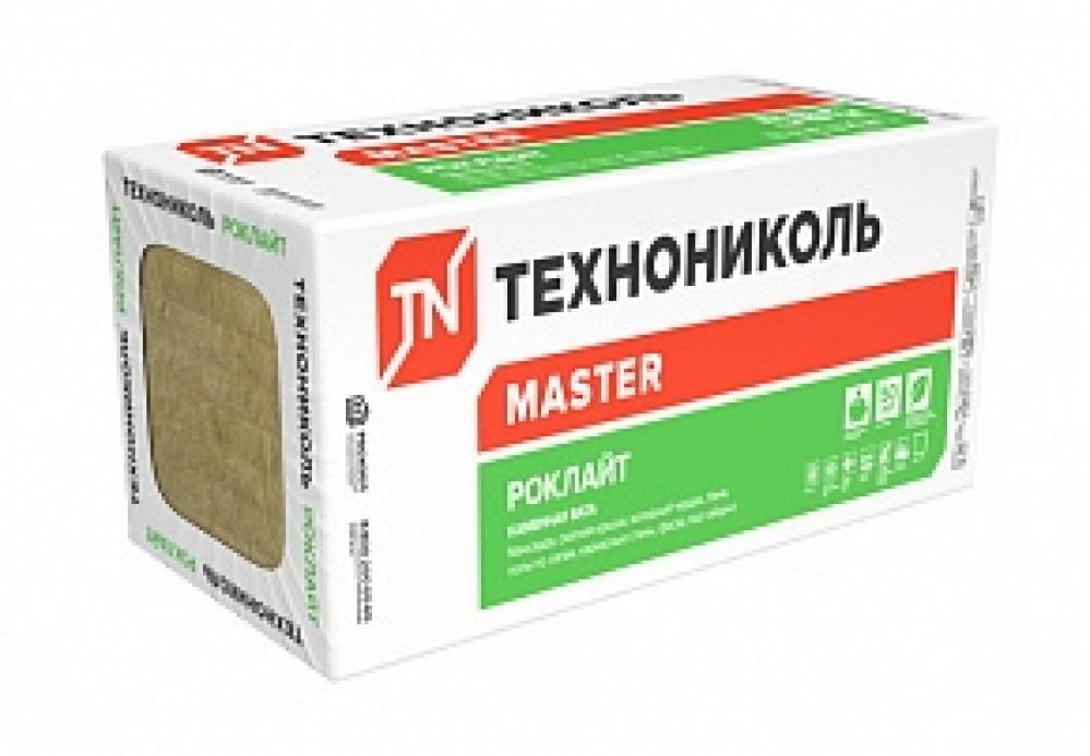 Утеплитель ТехноНИКОЛЬ РОКЛАЙТ (1200х600х50 / 5.76 м2 / 0.288 м3 / 8 плит)Утеплитель<br>Минераловатные базальтовые плиты ТехноНИКОЛЬ РОКЛАЙТ (1200х600х50 / 5.76 м2 / 0.288 м3 / 8 плит) являются современным теплоизоляционным материалом, который активно используется в индивидуальном и гражданском строительстве: перегородки, полы, перекрытия, мансарды, каркасные конструкции, стены под отделку сайдингом и так далее. Благодаря специальной технологии производства утеплитель обладает отличными эксплуатационными характеристиками:- Устойчивость к термальному воздействию. Плиты не только выдерживают выс<br>