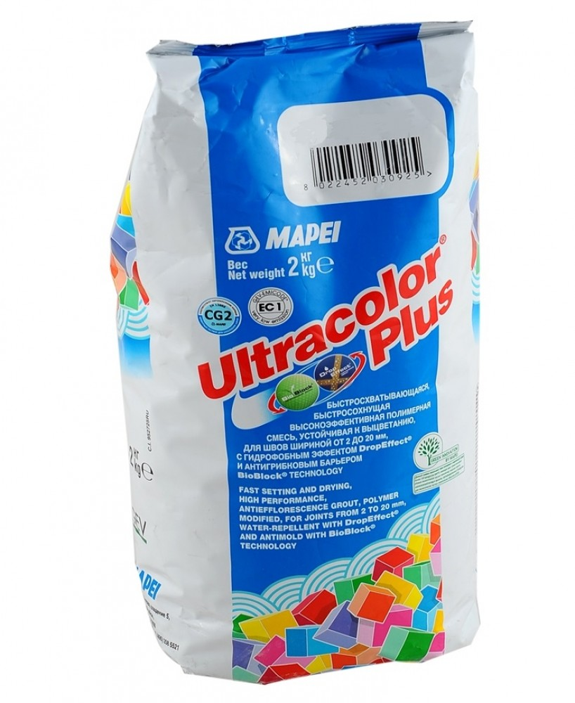 Затирка Mapei Ultracolor Plus / Мапеи Ультраколор Плюс 174 торнадо (2 кг)Затирка для плитки<br><br>